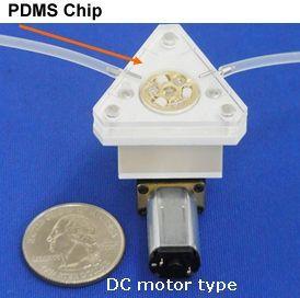 Chip-Schlauchpumpe DC-Motor