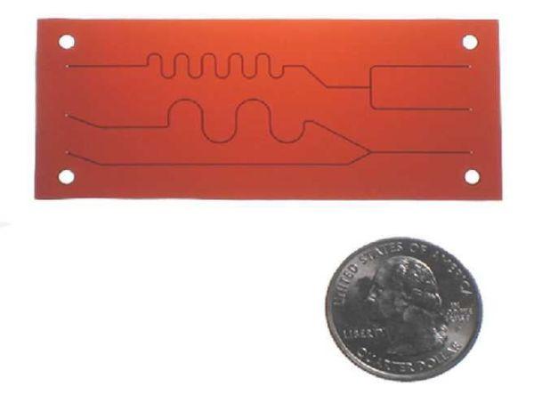 Flexible Film Chips Größe