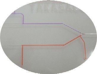 Kunststoff Chips Probe zuführen